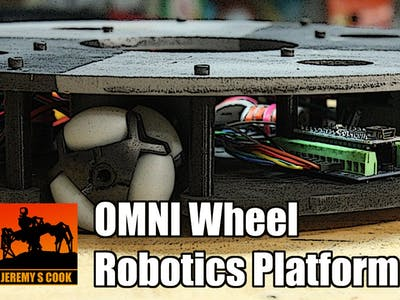 OMNI Wheel Robotics Platform