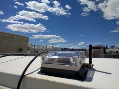 LoRa Control Center Using ESP8266 Thing Dev Board