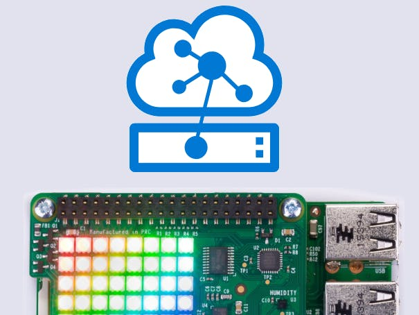 Azure IoT Edge with Sense HAT and Raspberry Pi