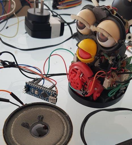 Arduino Nano in place