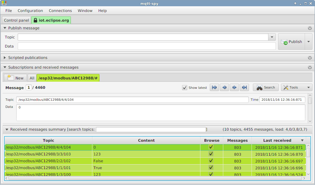 EASY MODBUS TCP SERVER SIMULATOR - MODBUS RTU Serial RS232