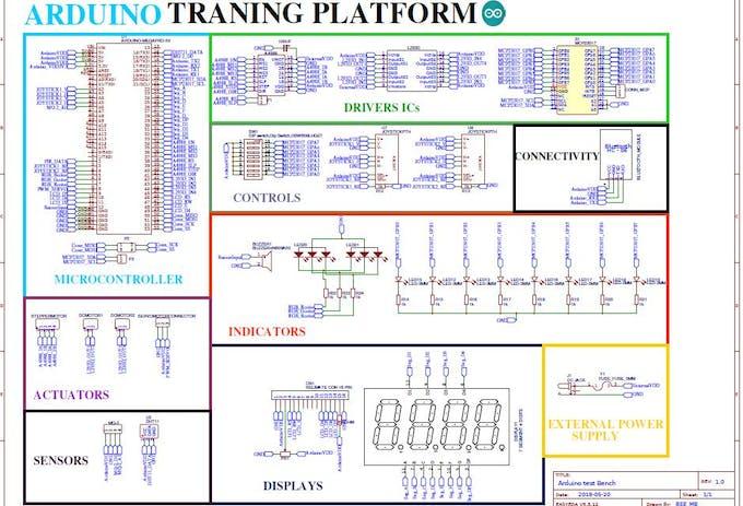 Arduino Training Platform - Arduino Project Hub