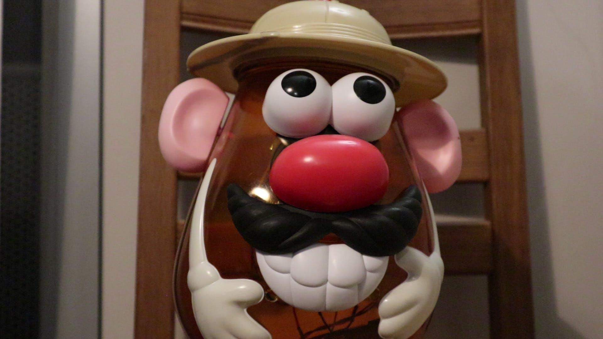 The Mr. Potato Head toy