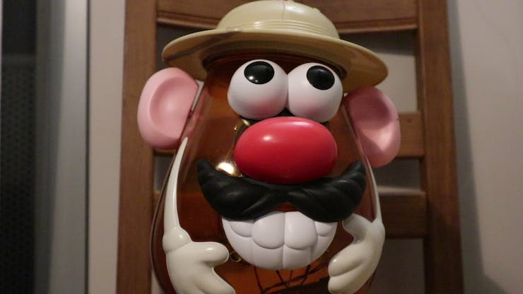 The Mr. Potato Head toy