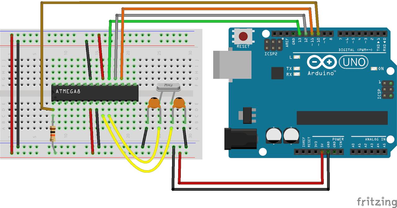 Programming ATmega8 Using Arduino IDE - Hackster io