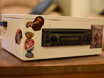 Car Stereo Upcycle