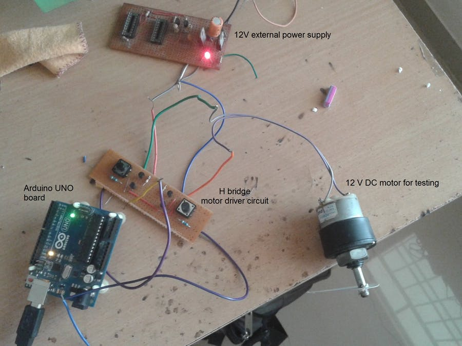 DC Motor Controlling Library
