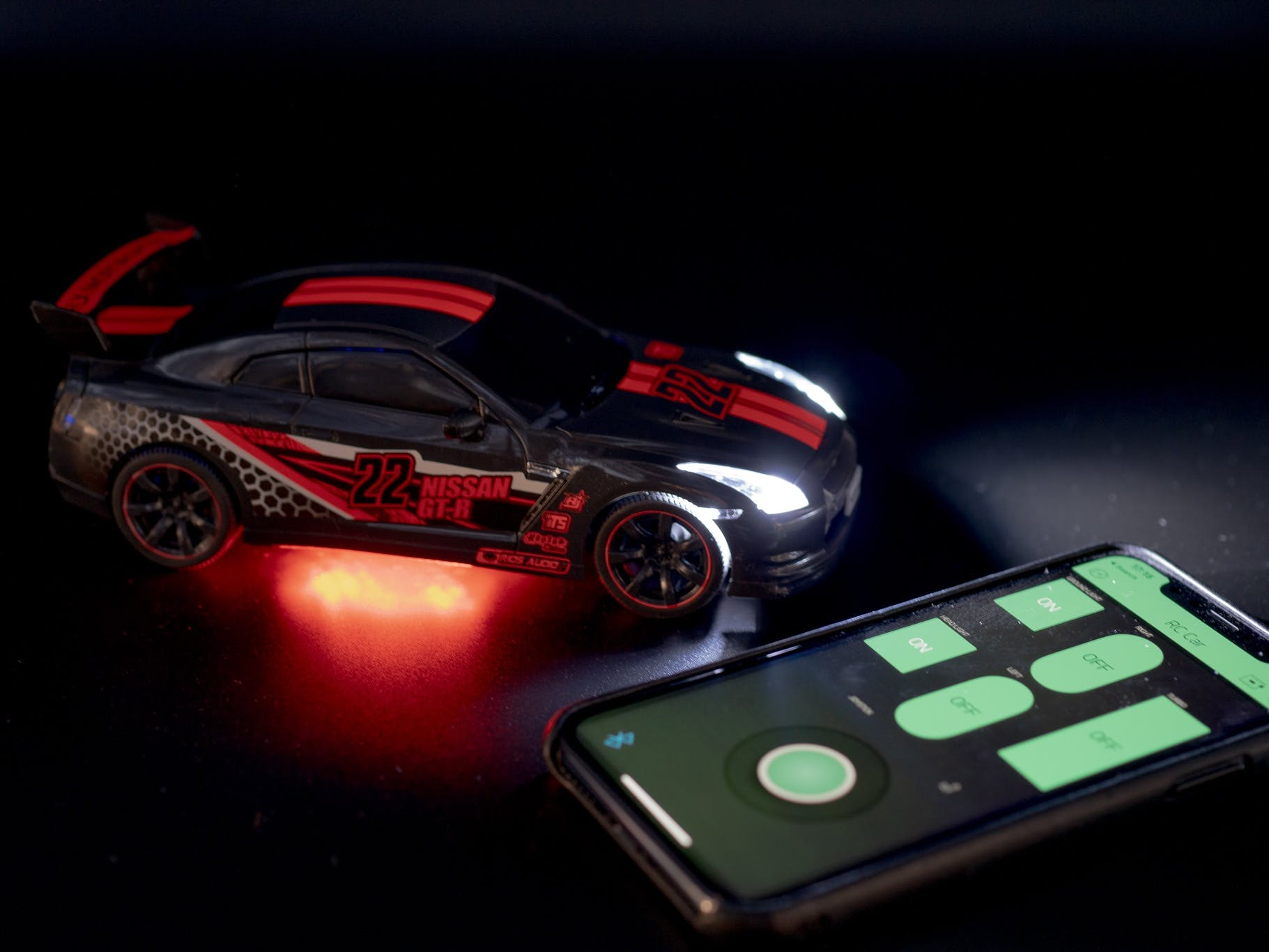 Turning Any R/C Car into a Bluetooth App Controlled Car
