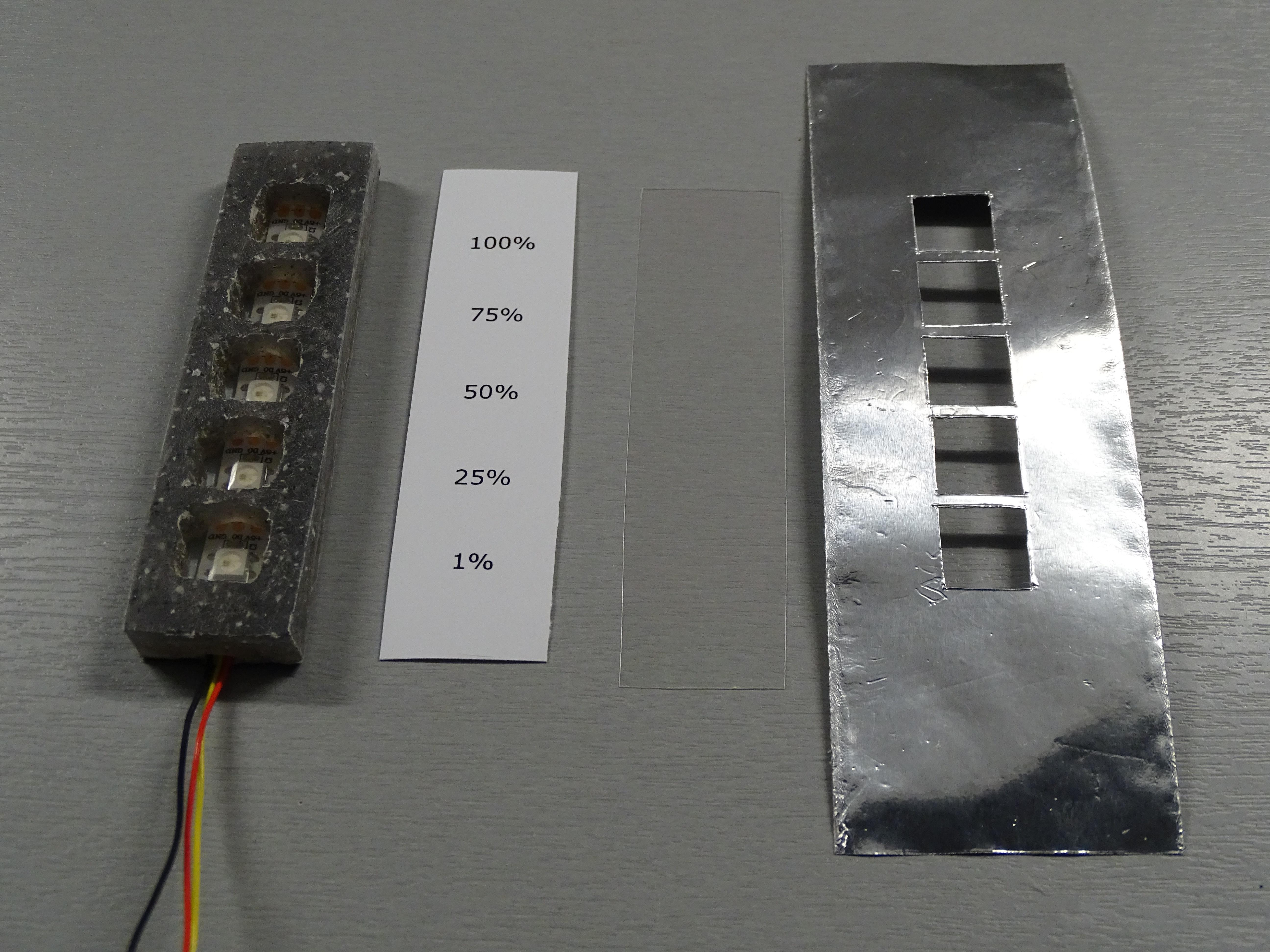 Water Level Indicator Build Circuit