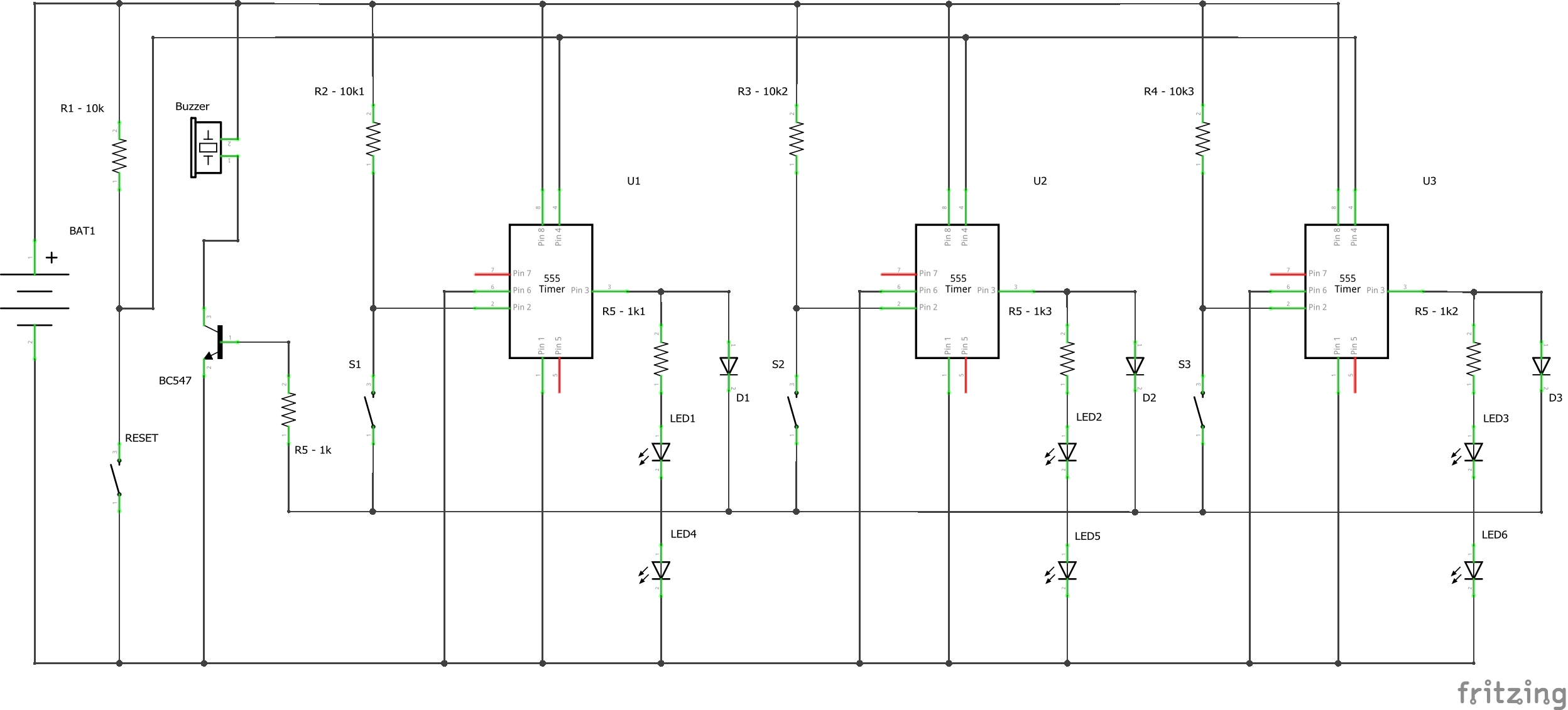 Quiz Buzzer Using 555 Timer Ic Monostable Multivibrator Circuits Electronics Nanman Schem Y6gxlzop2g