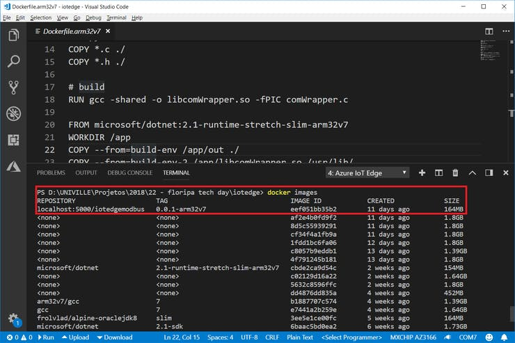 Azure IoT Edge Reading Data From PLC - Industrial IoT - Hackster io