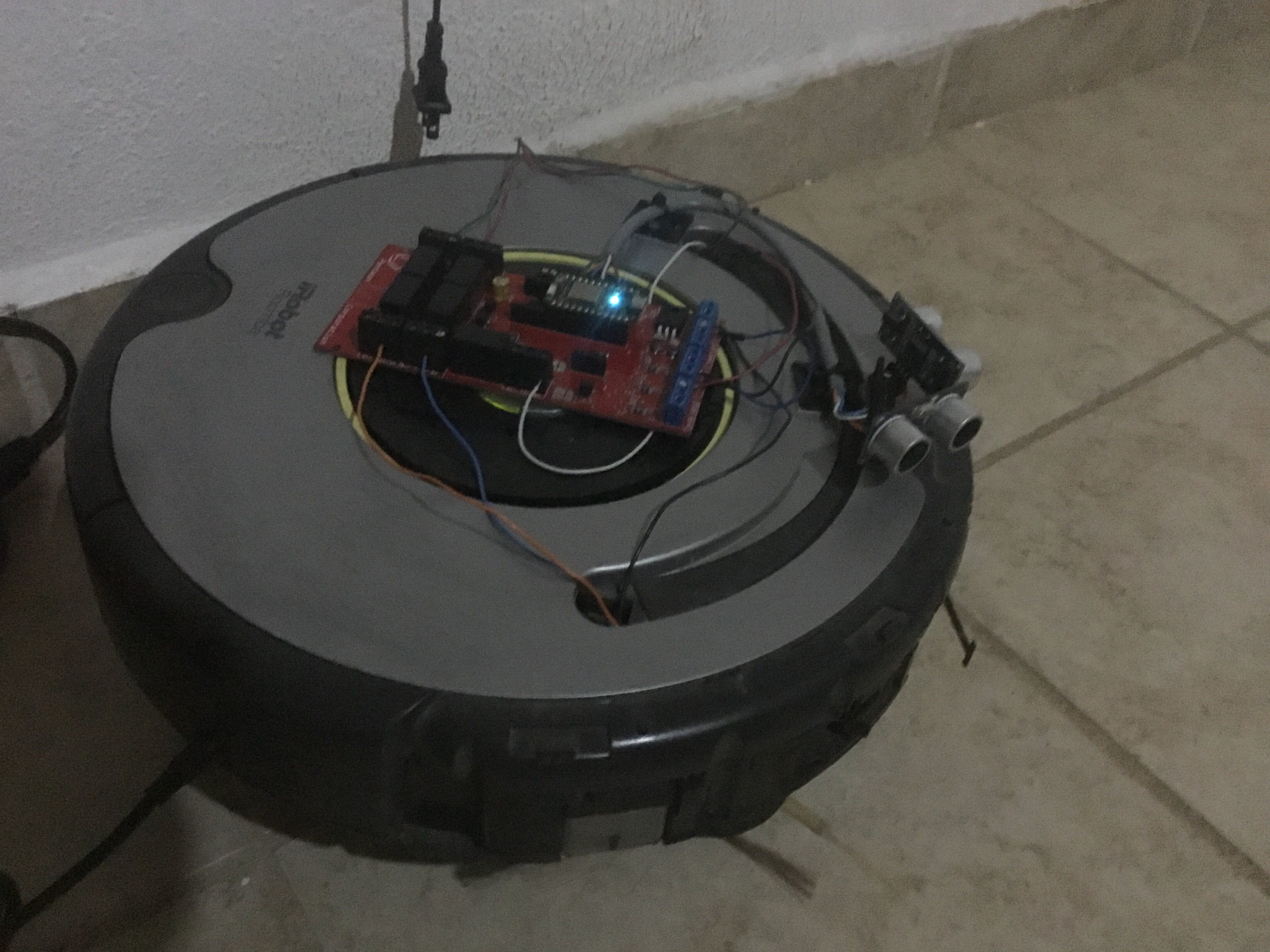 Hacking an iRobot to Act as RC with ThunderSoft & Particle