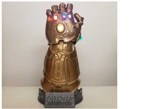 Make Your Own Thanos Infinity Gauntlet!