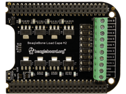 LoadCape from GHI and BeagleBoard.org