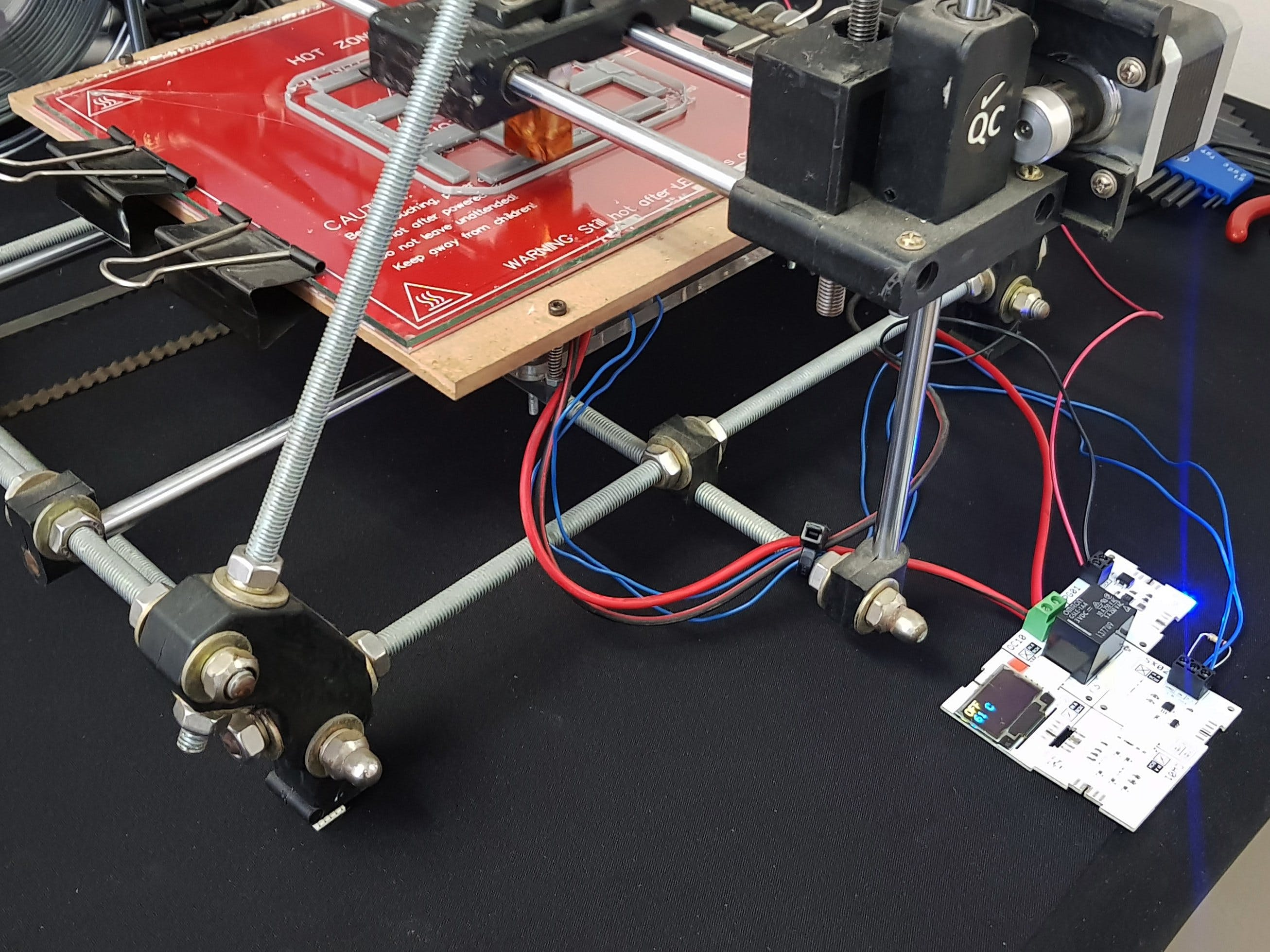 3D Printer Heat Bed Control Using XinaBox