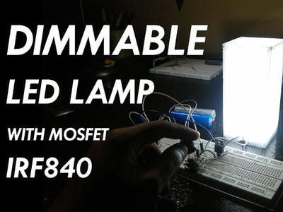 Dimmable MOSFET LAMP