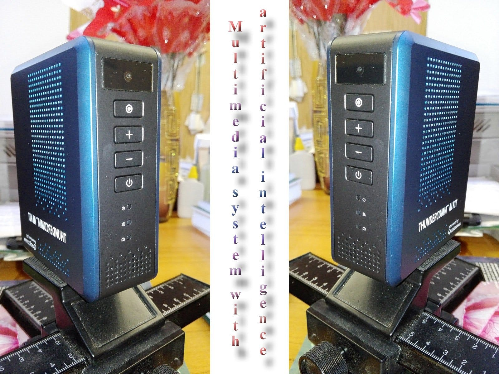 Multimedia system with artificial intelligence