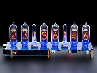 Arduino Shield NCS314 NIXIE Tubes Clock IN-14