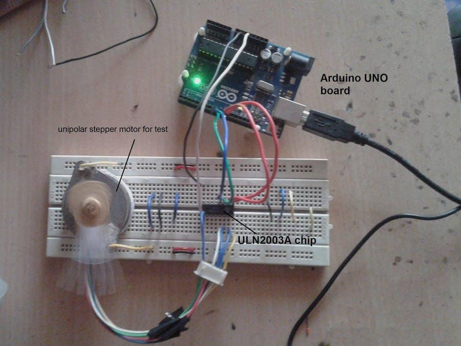 Unipolar Stepper Motor Controlling Library - Arduino Project Hub