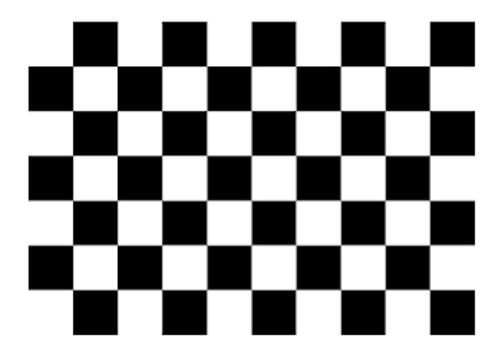 chessboard pattern