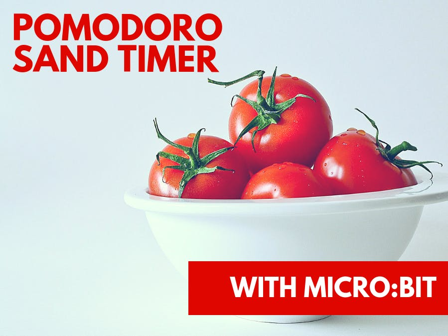 Pomodoro Sand Timer on Micro:bit