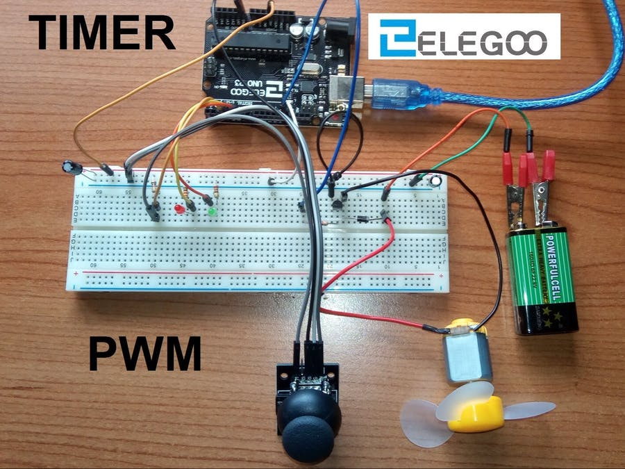 Motor Speed Control with One Transistor - Hackster io