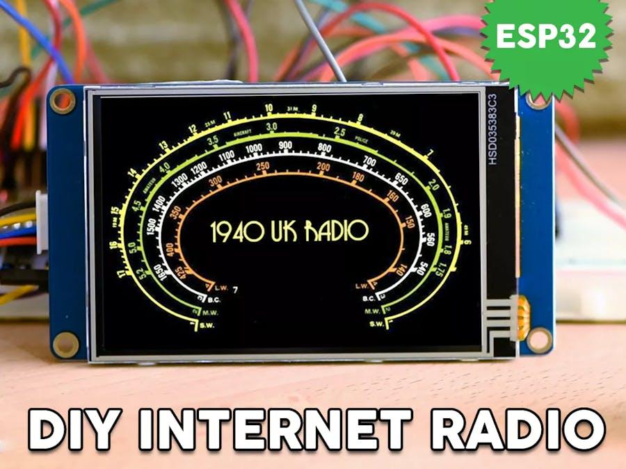 Internet Radio Using an ESP32 - Hackster io