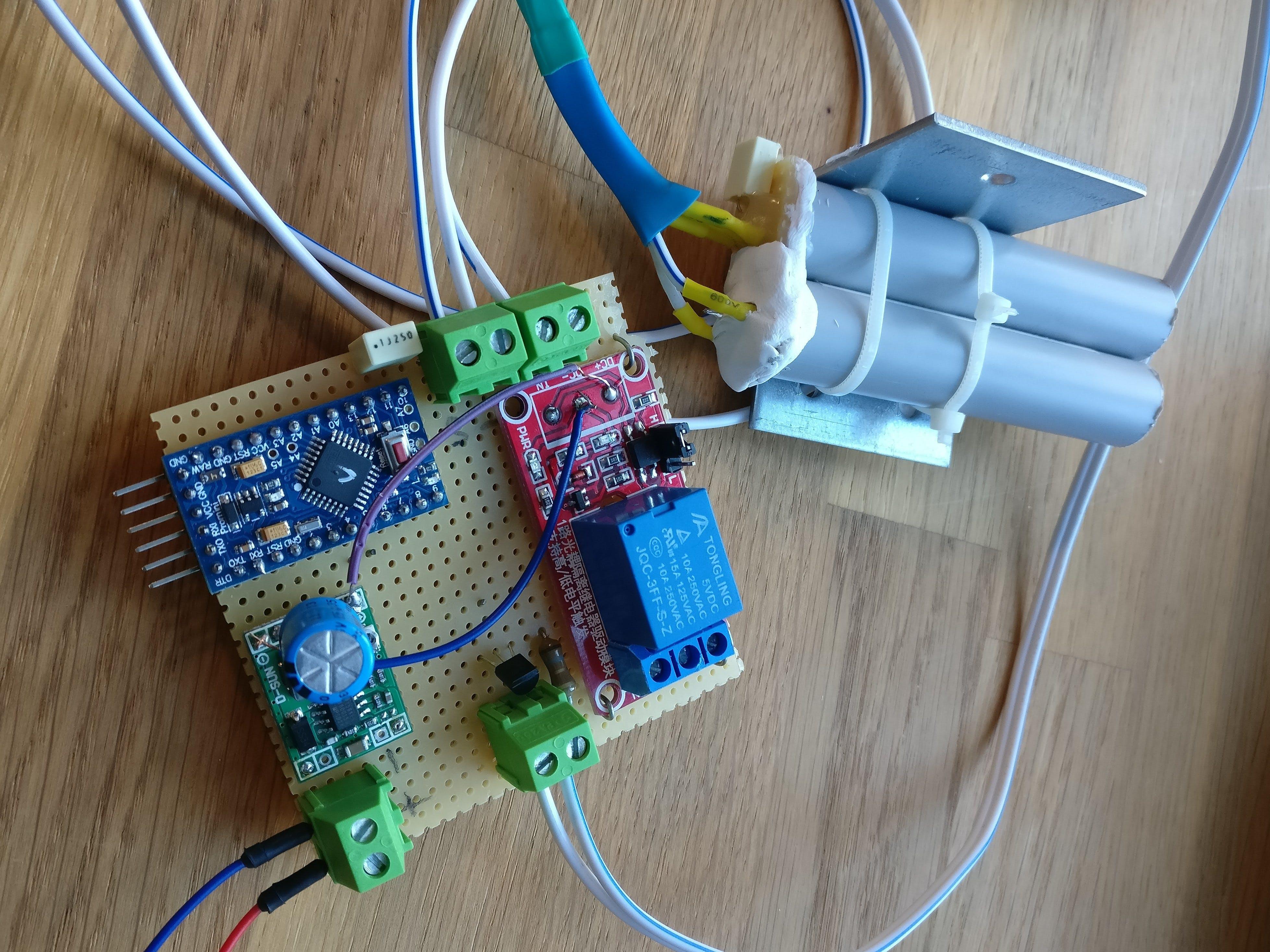 Long Range Beam Break Sensor with Reflector Panel