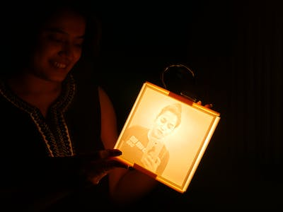 3D-Printed Lithophane Lantern: A Personalized Holiday Gift