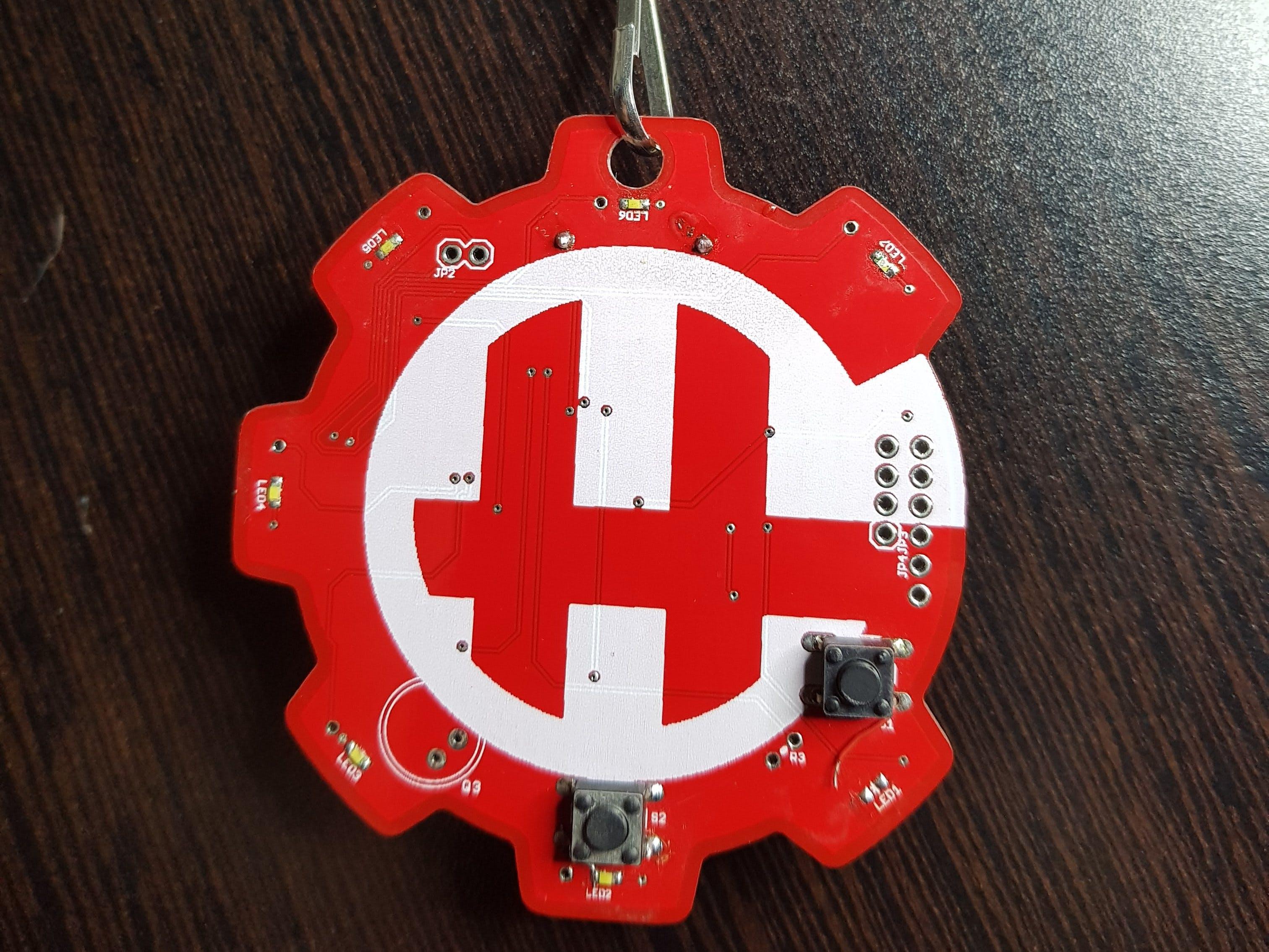 HackerGarage Badge
