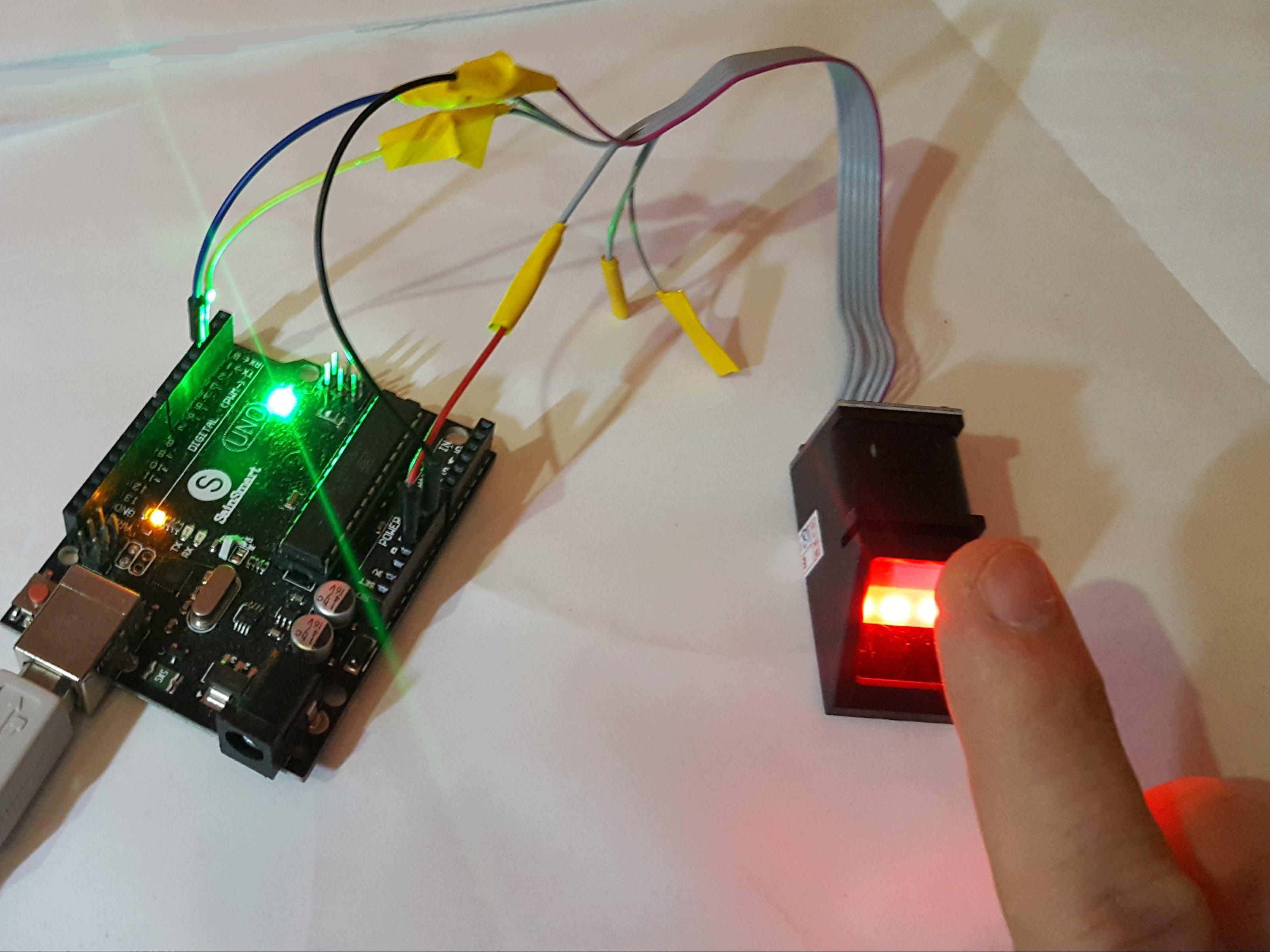 Fingerprint Sensor with an Arduino or an ESP