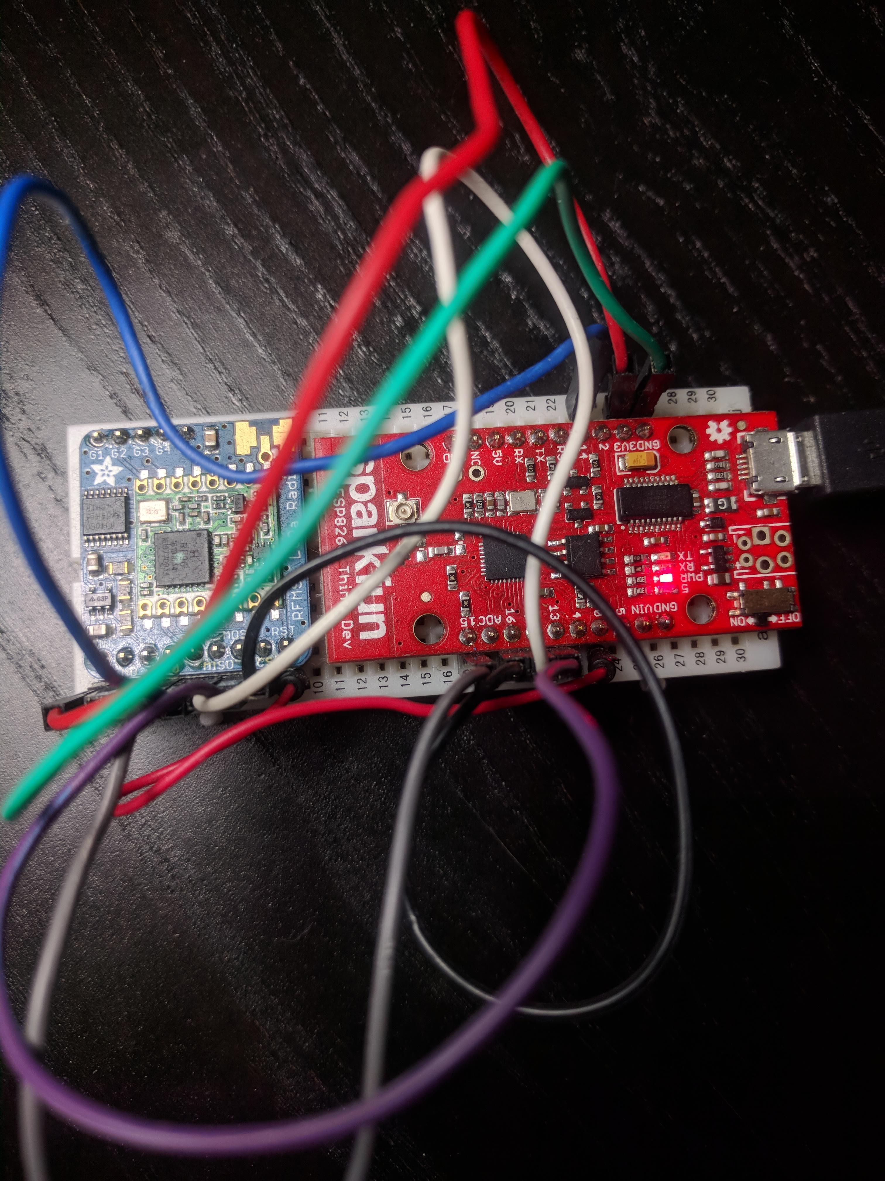LoRa Control Center Using ESP8266 Thing Dev Board - Hackster io