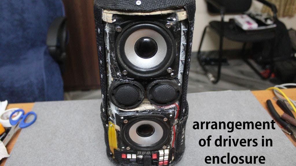 Sound Blink - A Unique DIY Portable Speaker - Hackster io