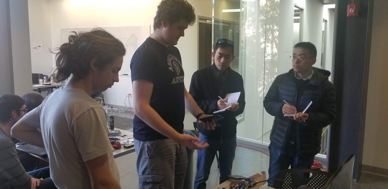 Presentation to HackWITus judges.