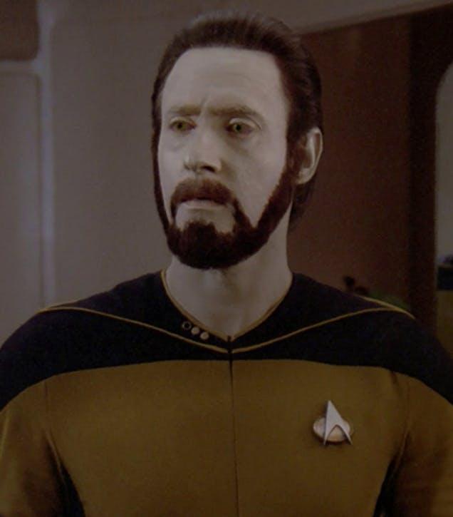 A fine beard.
