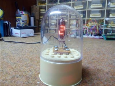 "Arduino ""One Digit"" IV9 Numitron Clock"