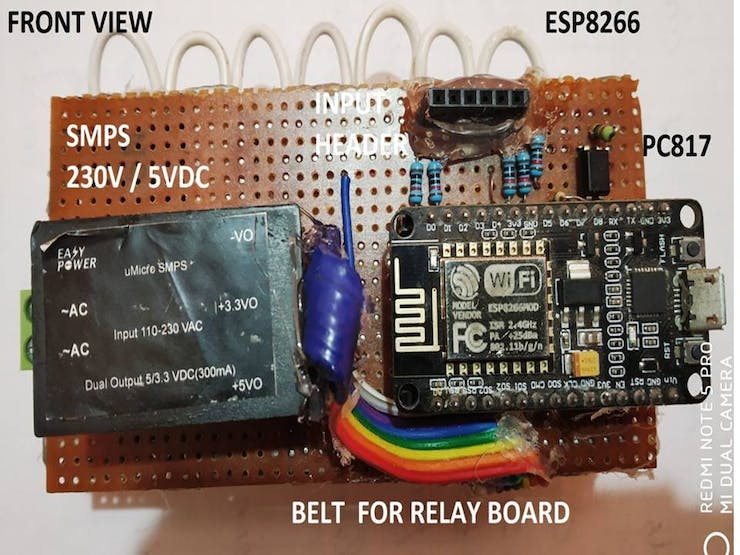Smart Switch Having 6 Outputs & 5 Inputs - Hackster io
