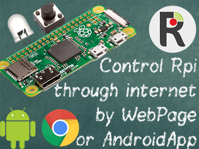 Control Raspberry Pi Pins Over the Internet