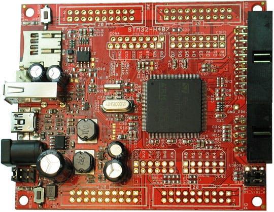 STM32 H@407 Board Front