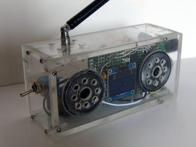 OLED FM Radio