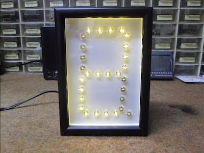 "Arduino Nano ""One Digit"" Big LED Clock"