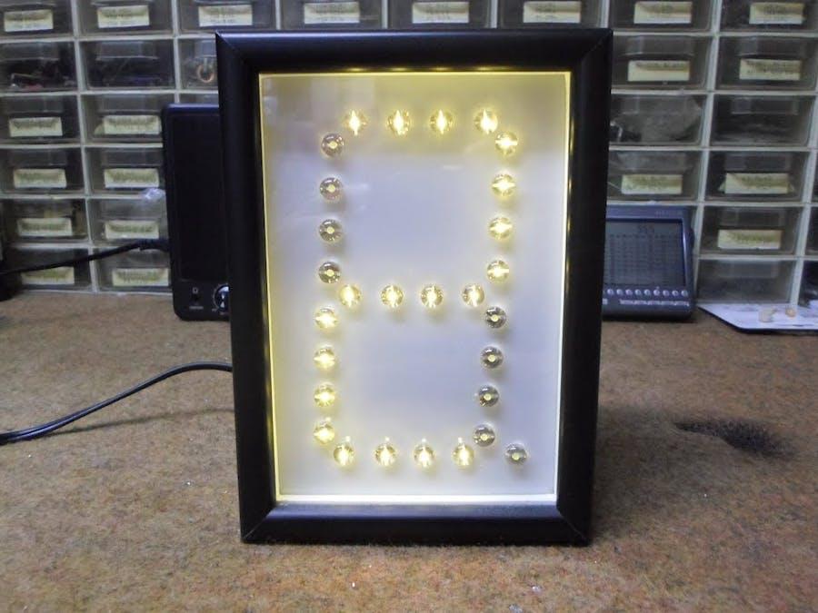 "Arduino Nano ""One Digit"" Big LED Clock"