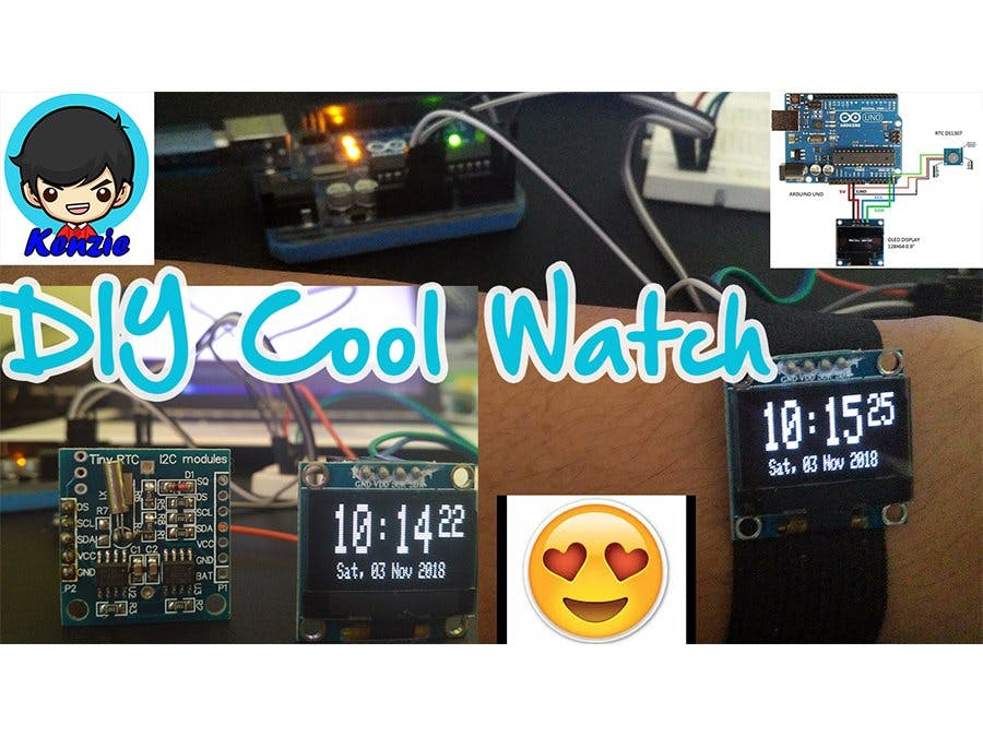 DIY Cool Watch