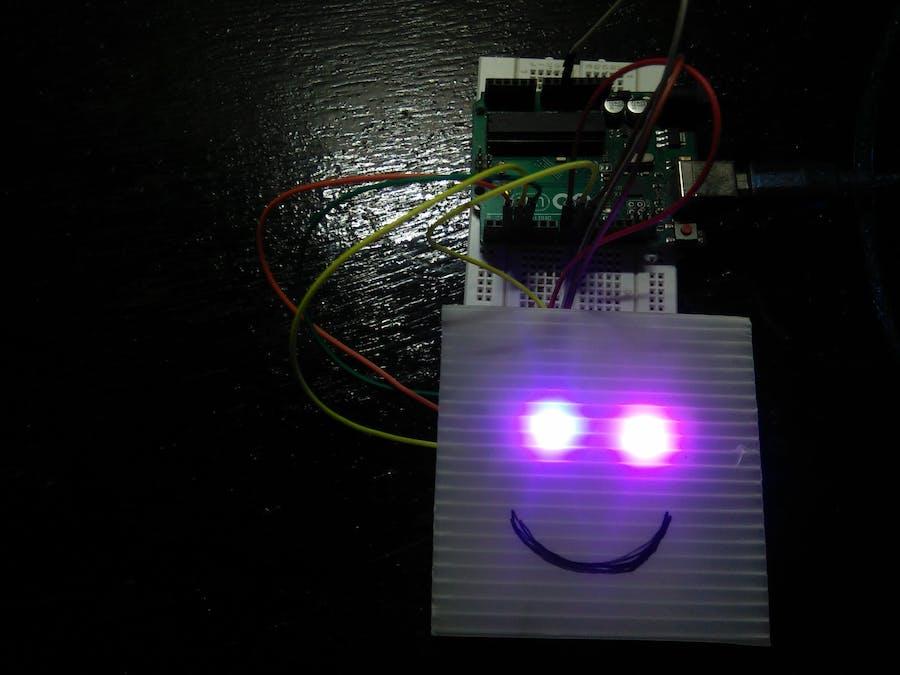Interactive RGB Eyes