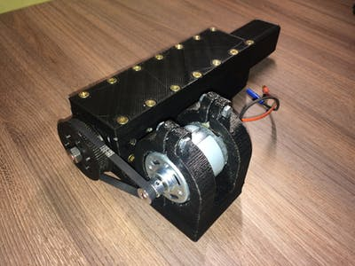 3D-Printable Linear Actuator