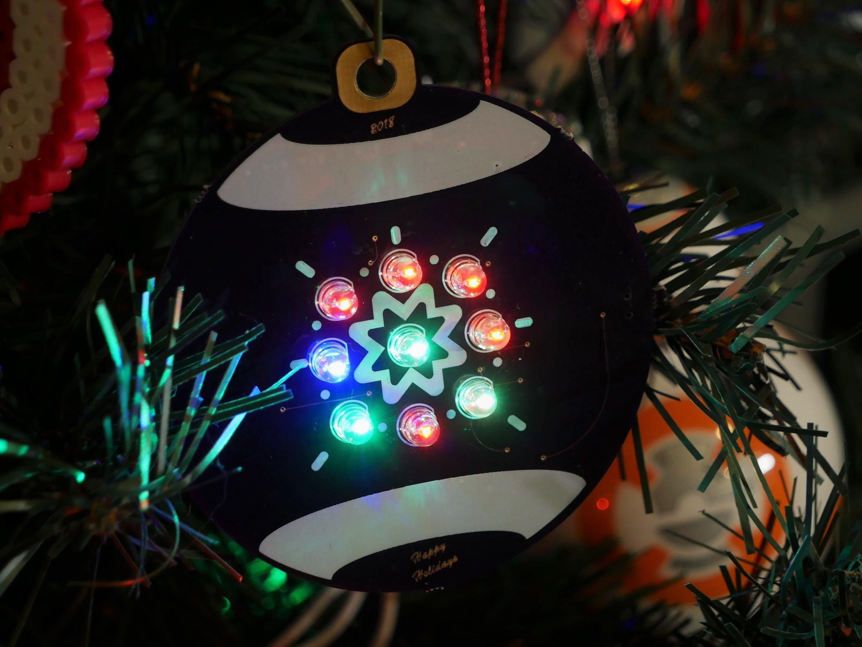 Designing a PCB Ornament