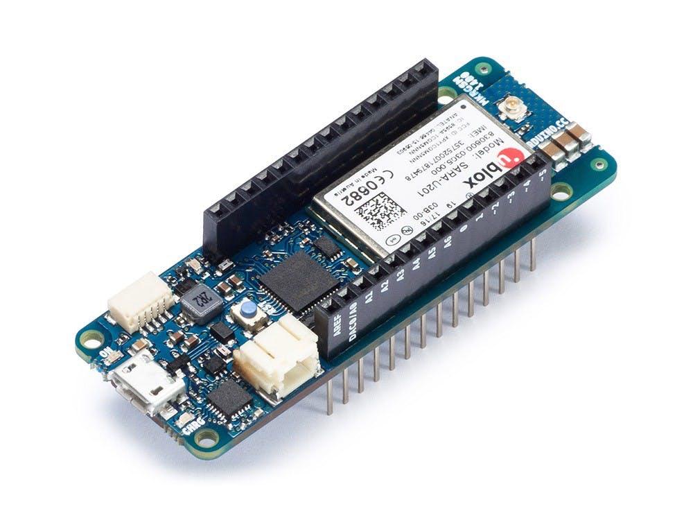 Arduino MKR GSM 1400: Cellular IoT Data Visualisation