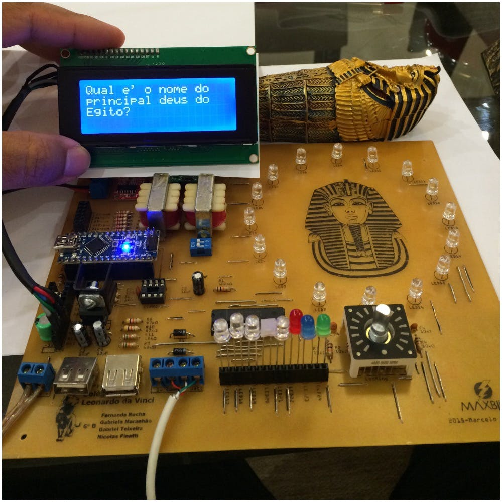 Testing the LCD display