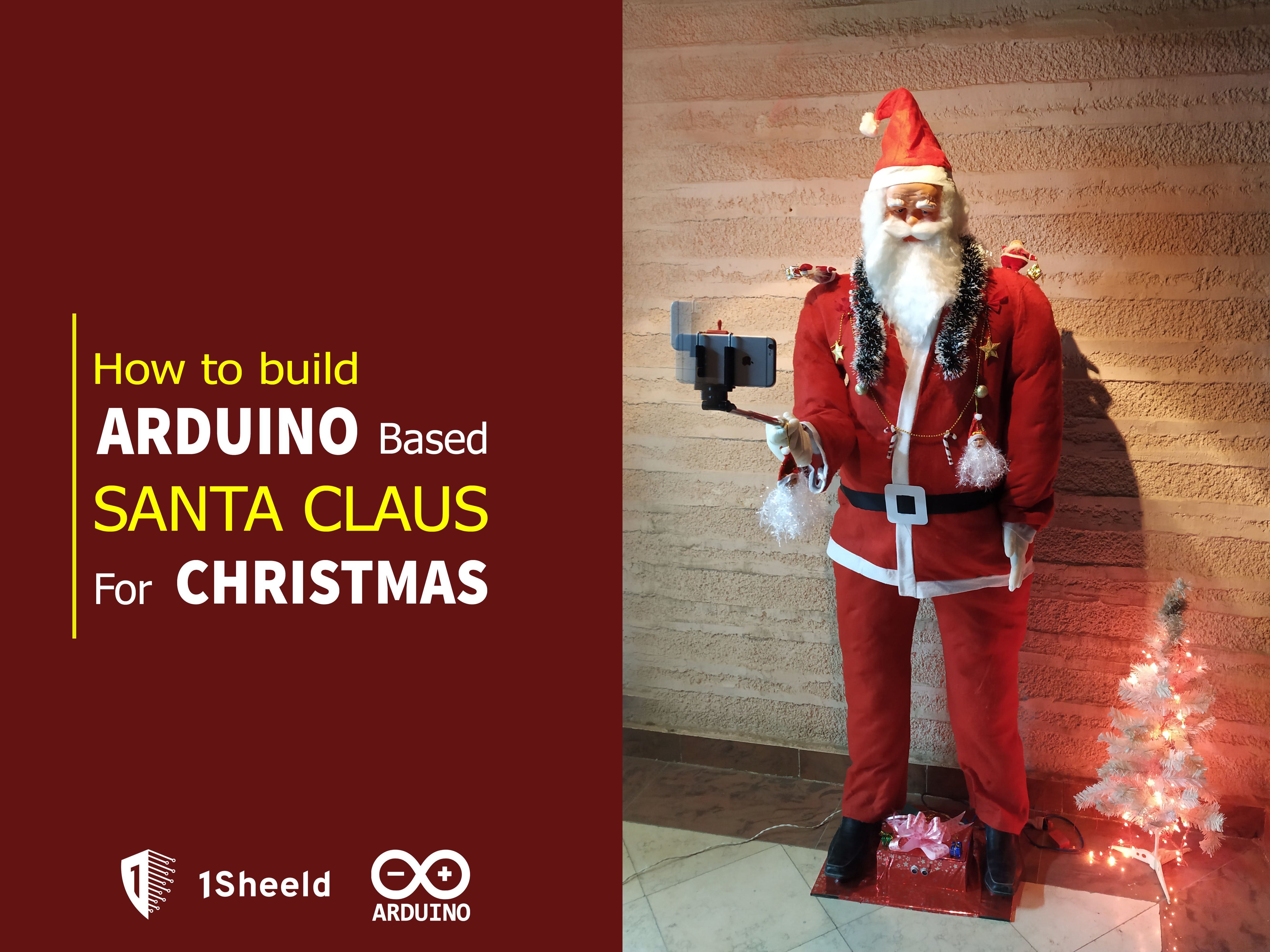 How to Build an Arduino-Based Santa Claus for Christmas