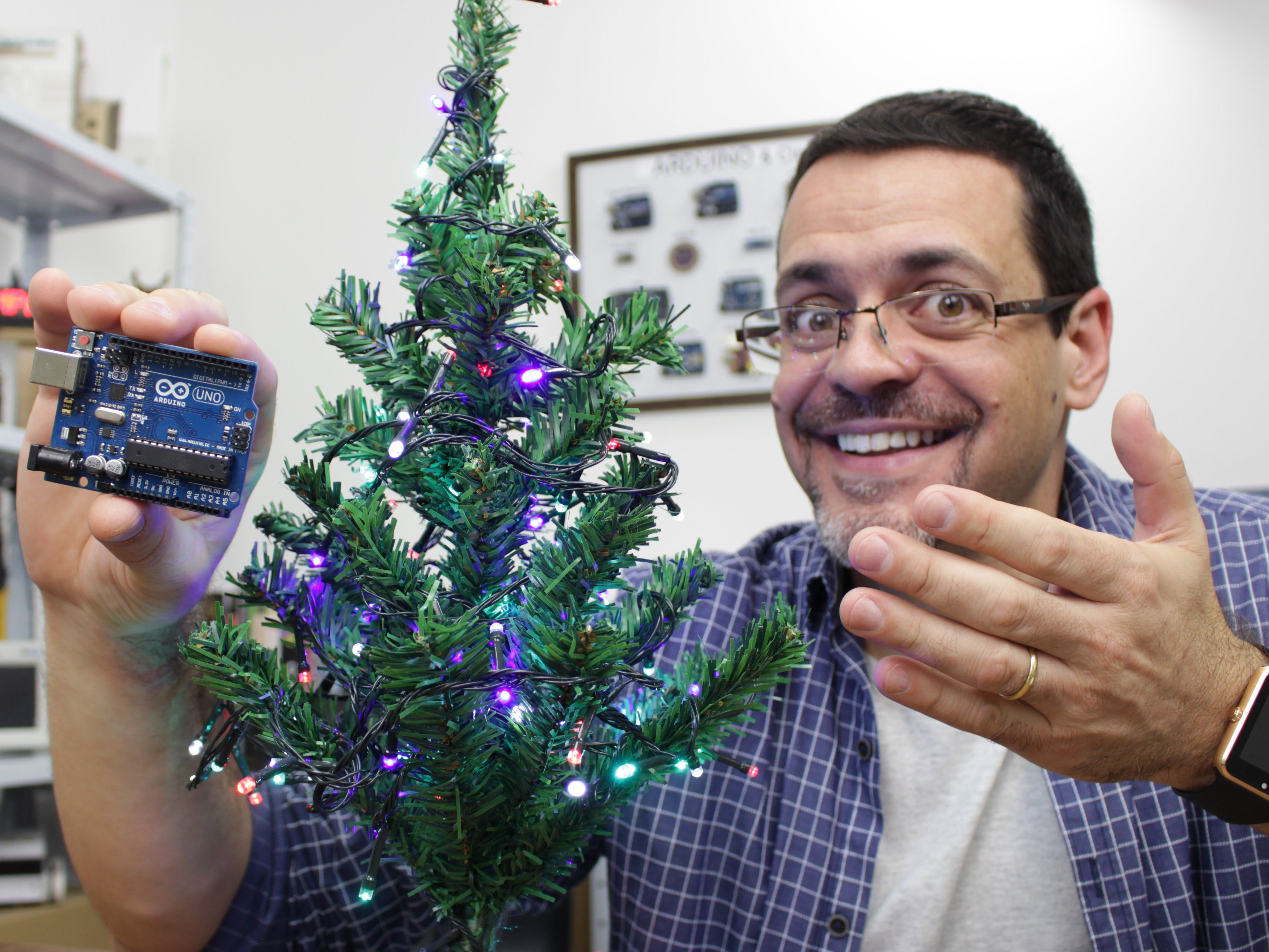 Clap Control for Christmas Tree